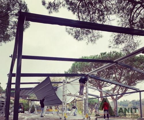 otomatik tente